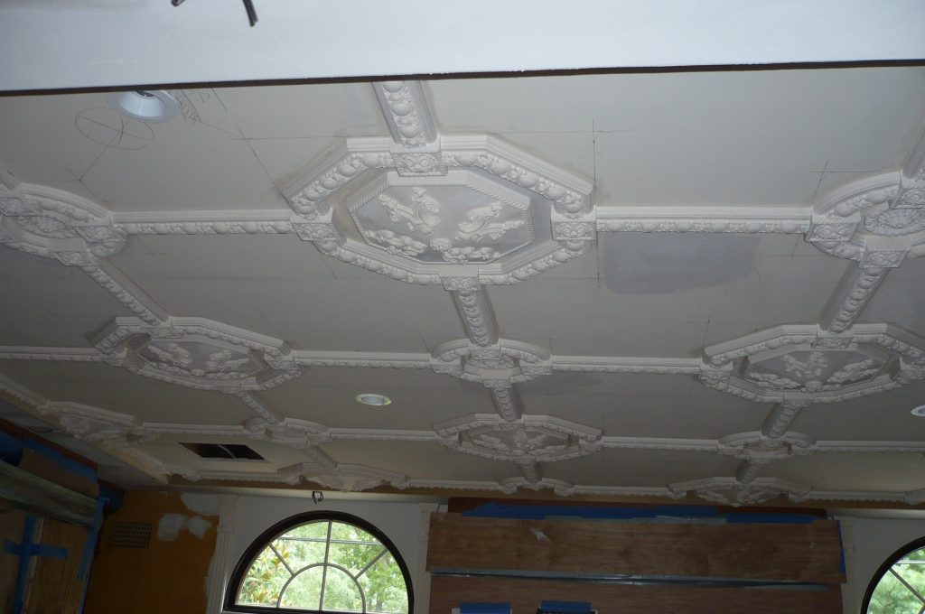 Ceiling- Coffered Ceiling- Ceiling Moldings