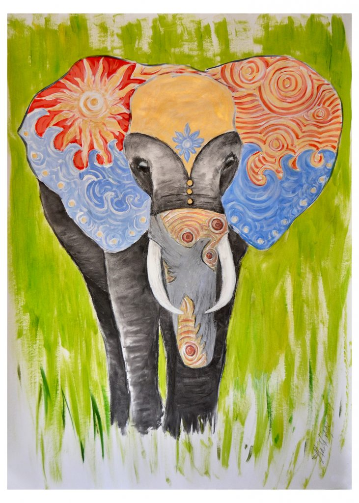 Elephant-Prints-Fine Art