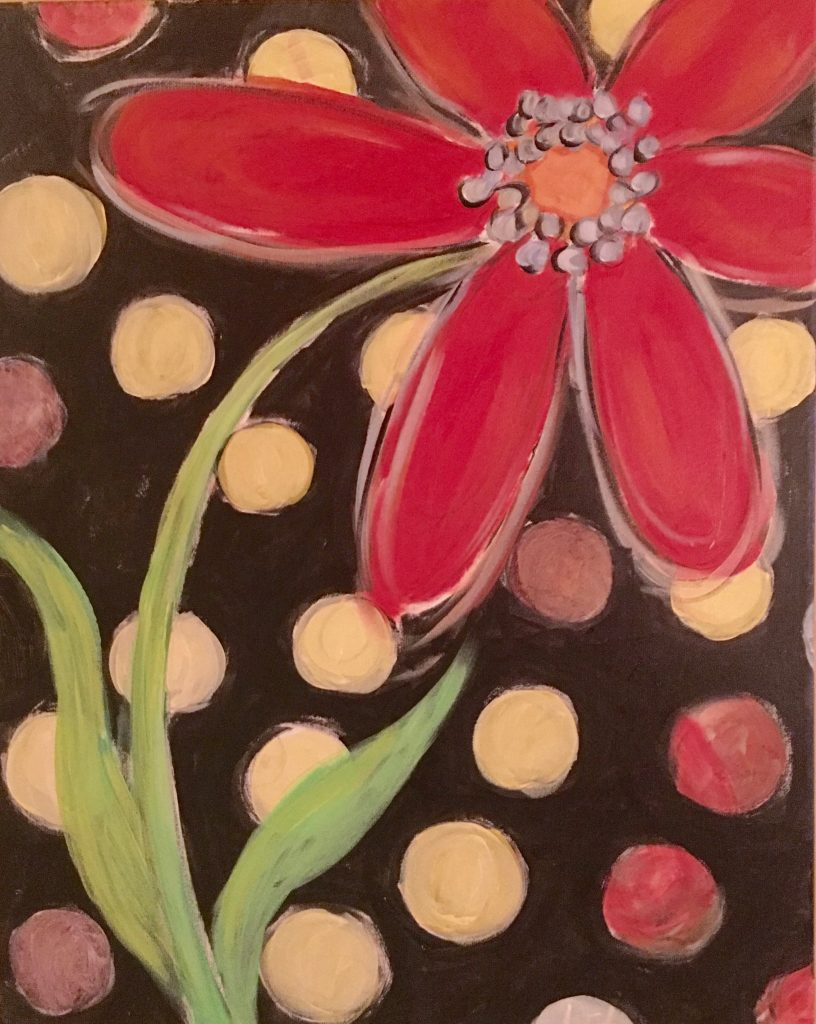 Flower painting-Paint party