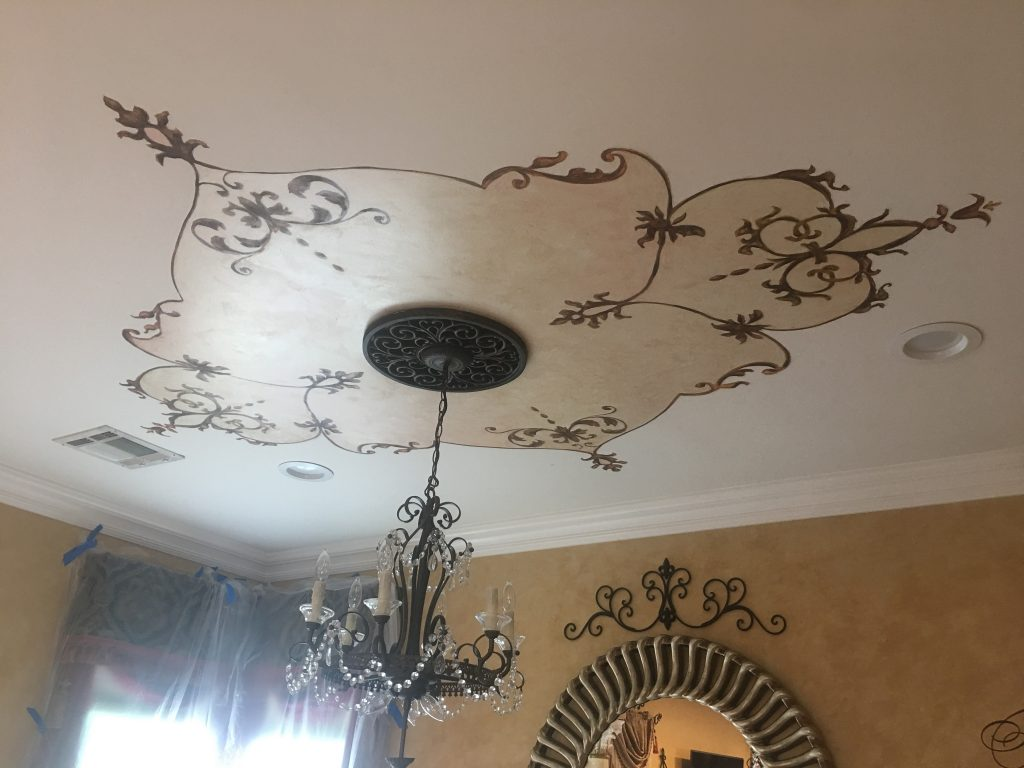 Ceiling design- Chandelier