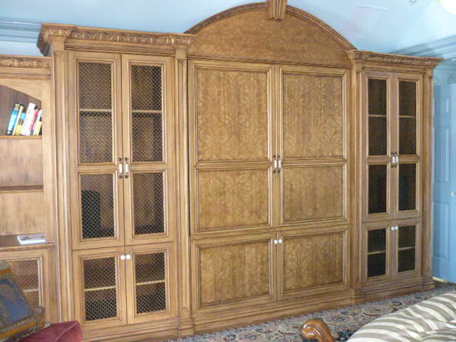 Custom Finished Cabinet - Bedroom furniture
