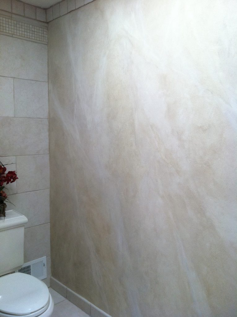 Glaze- contemporary glaze- Bathroom walls