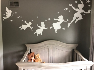 Nursery- Peter Pan- Tinker Bell