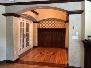 Faux stone Block and Faux tile