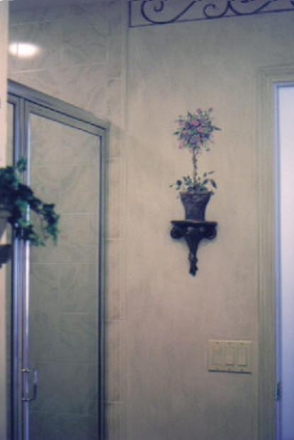 Painted Topiary-Faux Topiary