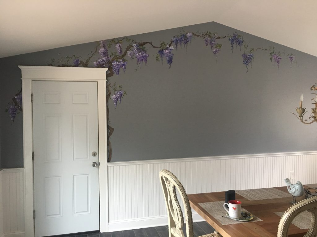 Wisteria Painted